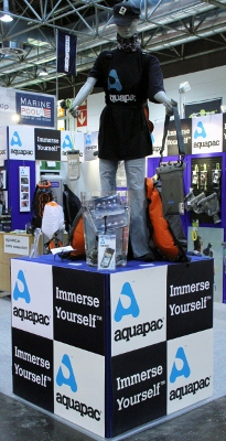 aquapac wasserdicht boot ispo 2013